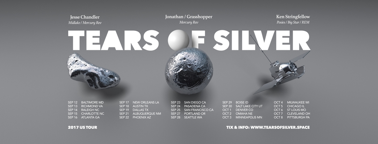 Mercury Rev tour as Tears of Silver